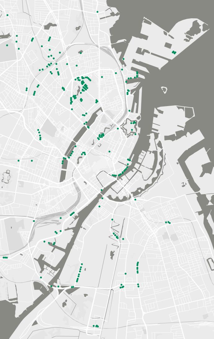 tree map of copenhagen