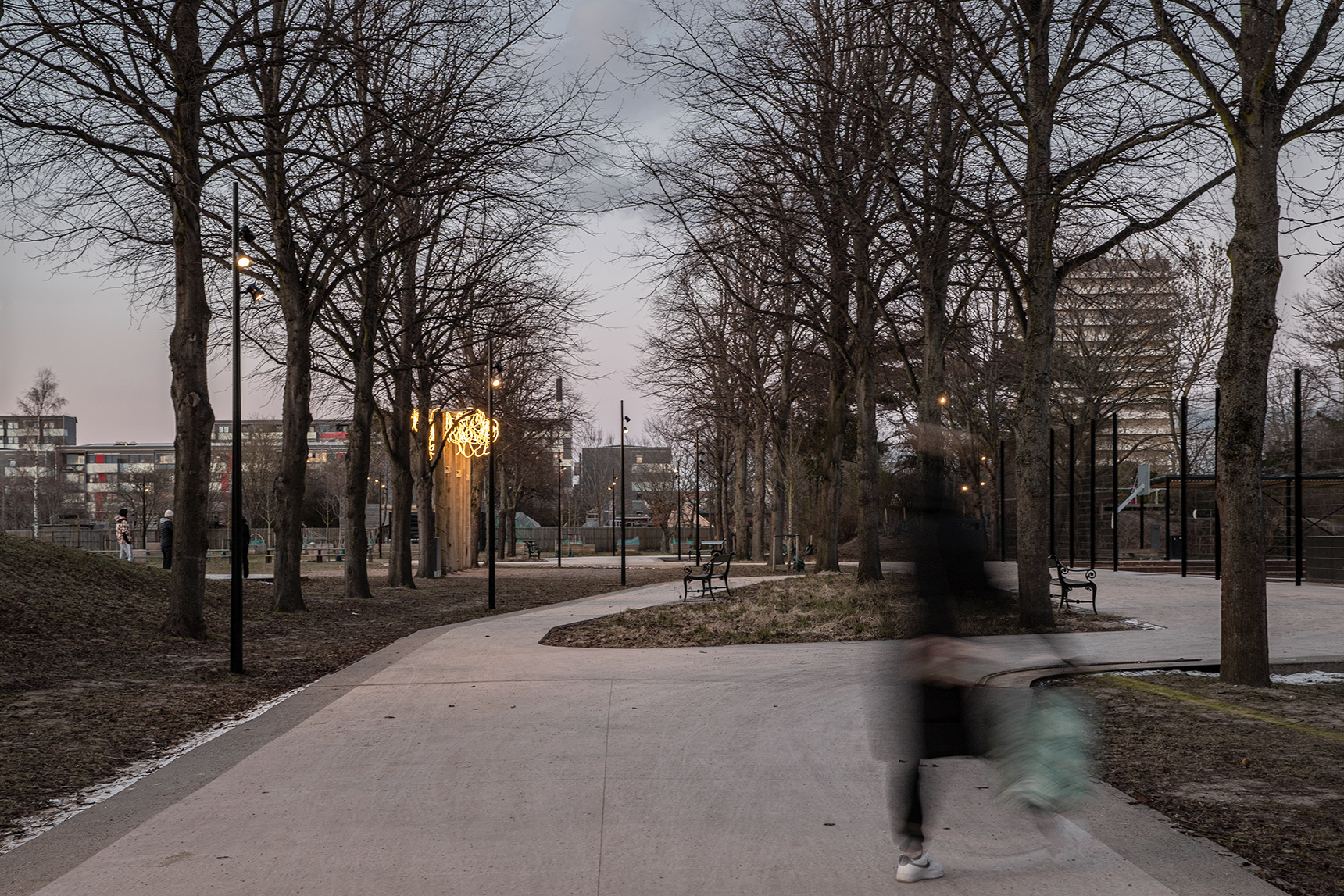 Remiseparken by Mikkel Eye
