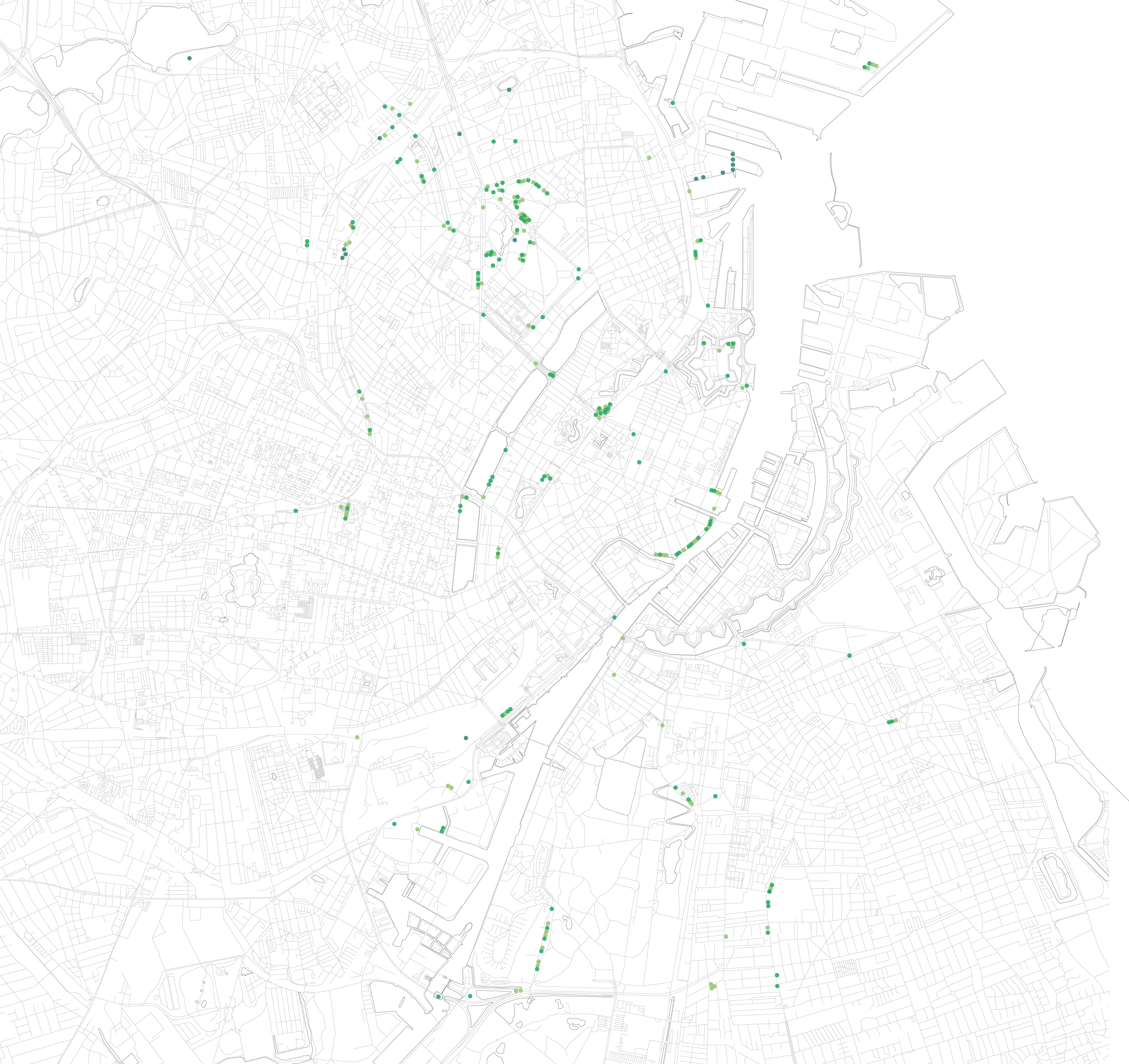 copenhagen tree map